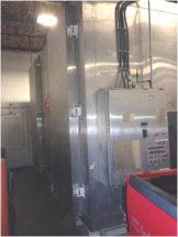 Liquid Carbonic Model JE-U6-30S Stainless Steel Spiral Freezer, 30 In. Wide Belt