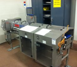 Safeline/Ishida Combination Metal Detector/Checkweigher, 120 per minute