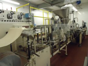 Bartelt IM-7 Pouch Packager & Cartoning Line