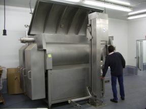FPEC 5,000 LB. STAINLESS VACUUM TUMBLER/MIXER