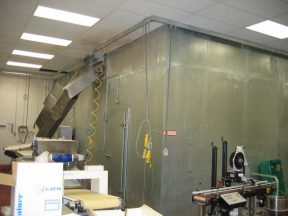NORTHFIELD 2000 LB. PER HOUR SPIRAL FREEZER, MANY FEATURES
