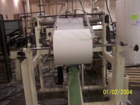 COMPLETE BABY WIPE PRODUCTION LINE