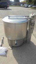Bock FP-90 Food Processing Basket Centrifuge, 5 HP--