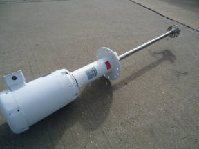 """Admix """"Rotosolver"""" 10 HP Mixer, 48 In. Long Stainless Shaft/Head"""