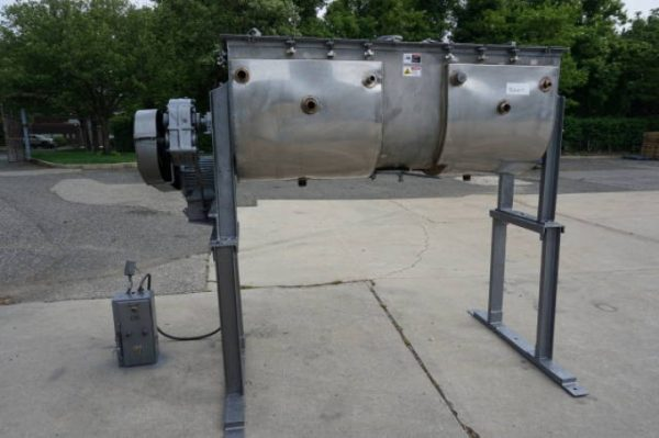 20 Cu. Ft. Patterson Kelley Stainless Jacketed Double Ribbon Blender