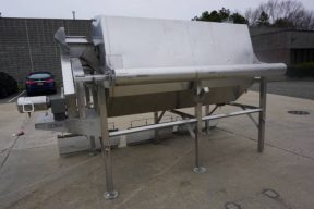 Hughes 48 In. Diameter Continuous Rotary Blancher/Cooker-
