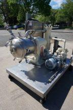 Cornell D16 Stainless Steel Sanitary Versator, with Vacuum Pump