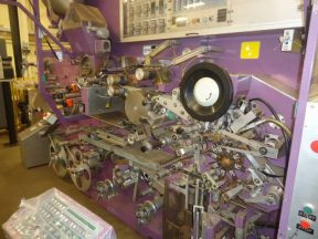 IMA C-2000 TEA BAGGER WITH ENVELOPE AND CARTONING FEATURES