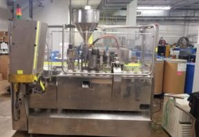 Nima/Cavalla Hot Air Plastic Tube Filling and Sealing Machine, 100 Per Minute
