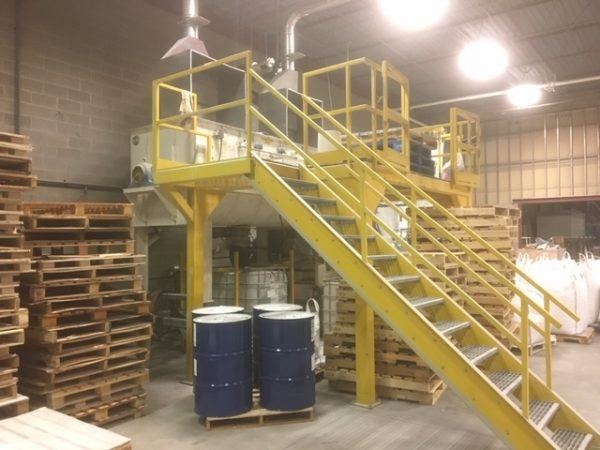 200 Cu. Ft. Patterson Stainless Double Ribbon blender