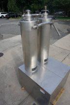 Twin Tube Vertical Scrape Surface Heat Exchanger