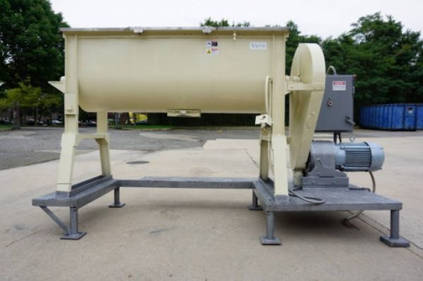 17.5 Cu. Ft. Young Stainless Steel Double Ribbon Blender,  10 HP