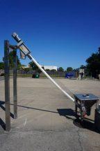 Flexicon 2-1/2 In. Diameter Flexible Screw Conveyor With Vibrator