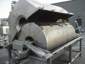 """HUGHES 48"""" DIA. CONTINUOUS ROTARY BLANCHER/COOKER/COOLER"""