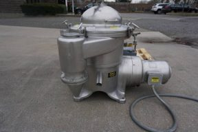 Westfalia/Centrico Stainless Steel SAMR-3036-M Separator/Centrifuge, 10 HP