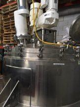 325 Gallon Lee Triple Motion Jacketed Vacuum Vessel