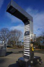 10 Ft. High Stainless Steel Bucket Elevator