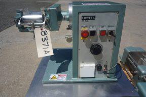 Erweka 2 In. X 4 In. Tabletop Lab Three Roll Mill and Oscillating Granulator