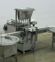 Accutek Six Piston Fully Automatic Straightline Filling Machine