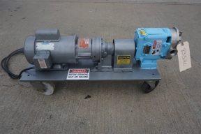 Waukesha Size 15 SS Positive Displacement Pump, Portable