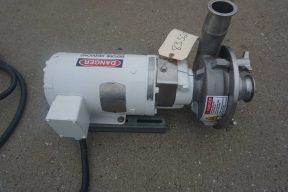 Fristam 2-1/2 In. X 2 In. SS Centrifugal Pump, 1HP