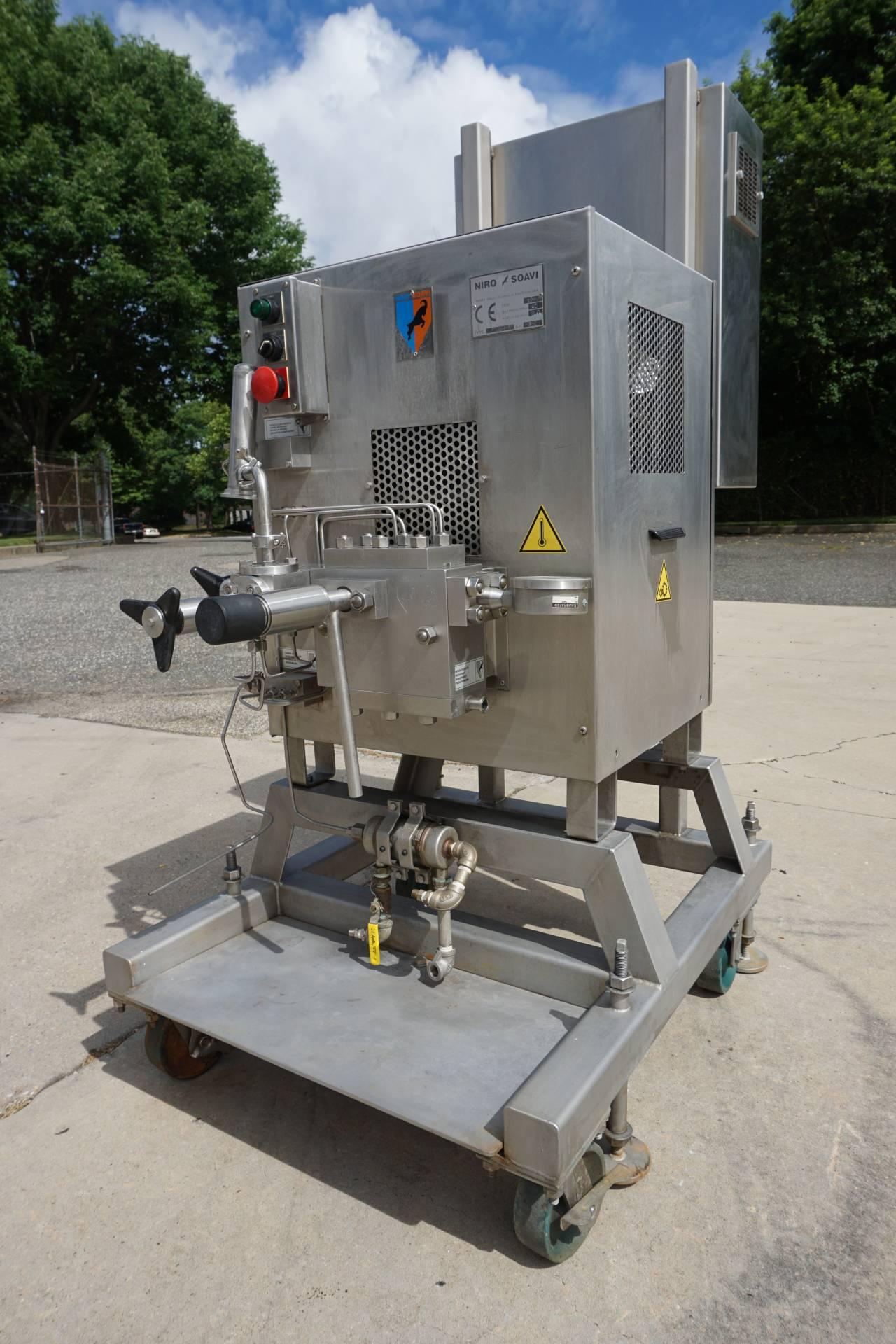 Niro Soavi 2006H-A SS Pilot Plant Homogenizer, 5800PSI
