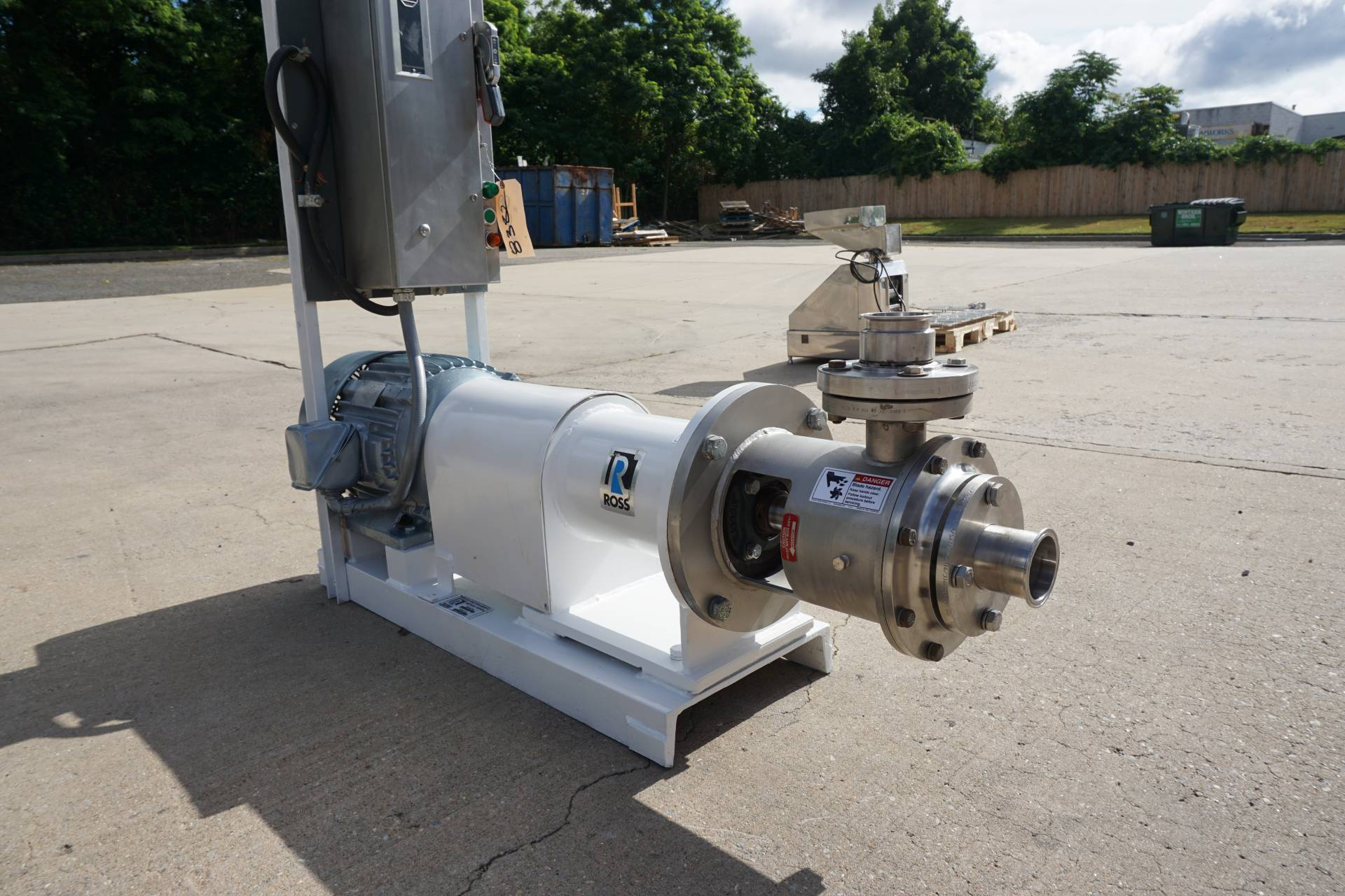 Ross ME-425 Inline High Shear Mixer, 25HP