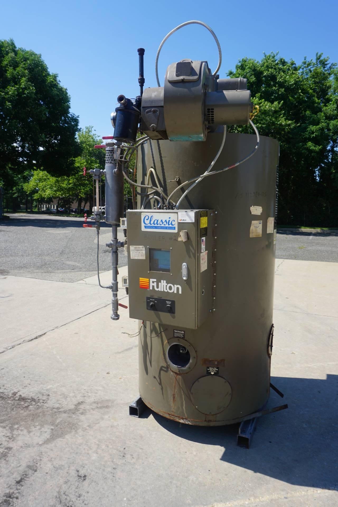 Fulton FB-020-A Fuel Fired Steam Boiler, Natural Gas