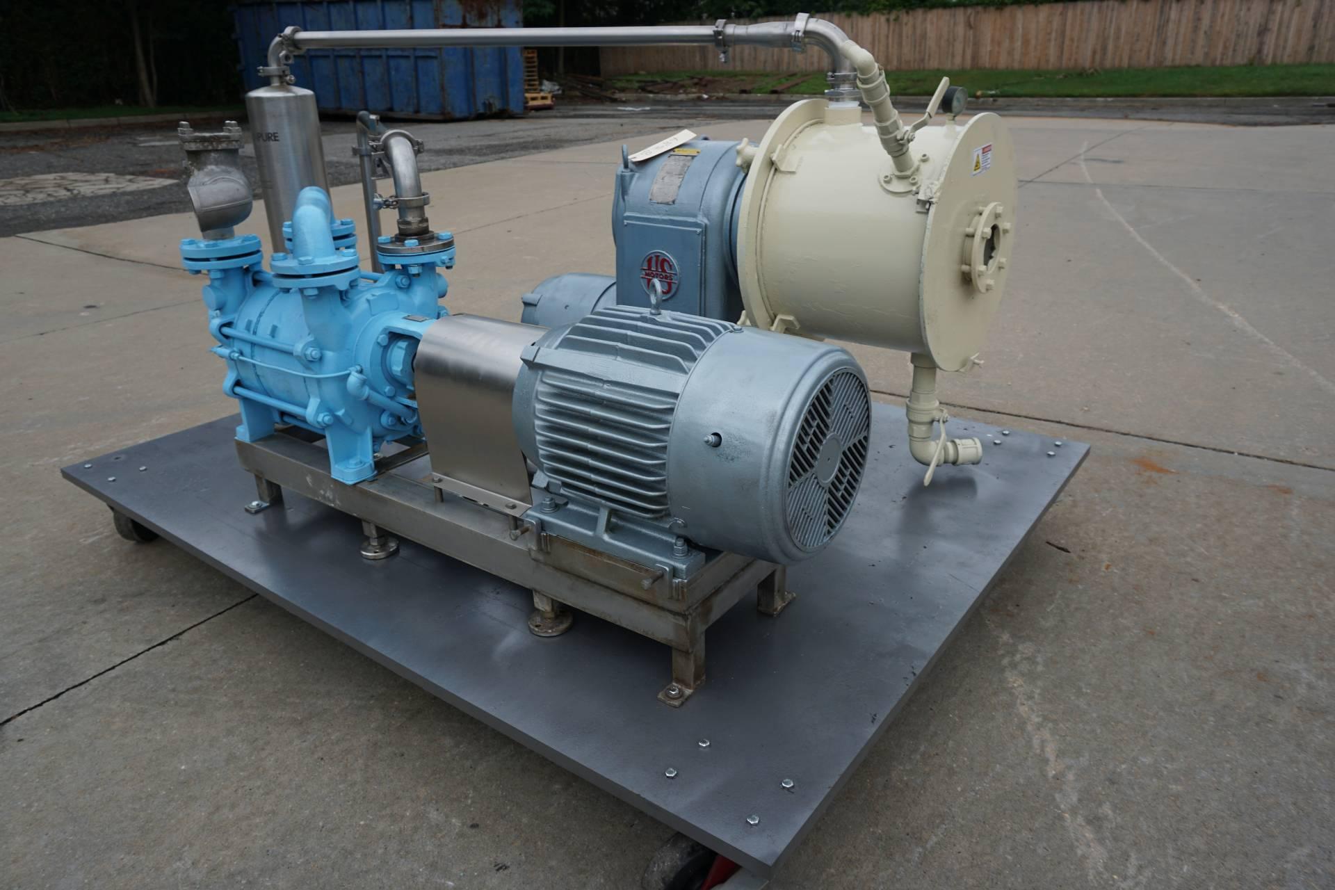 Cornell D16 Versator Deaerator With SIHI Vacuum Pump