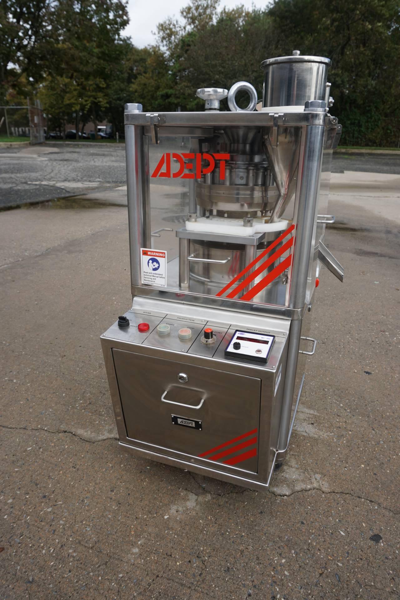 Adept 10 Station R&D Tablet Press, GMP