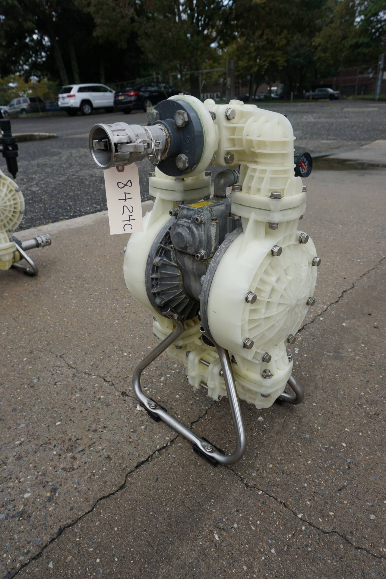 Yamada NDP40BPS Air Operated Double Diaphragm Pump