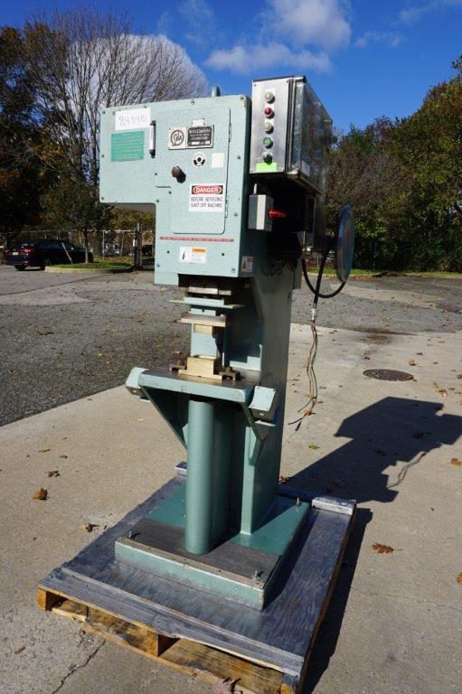 "Weber & Seelander ""SELA"" Semi-Automatic Soap Cake Stamping/Soap Press Machine"