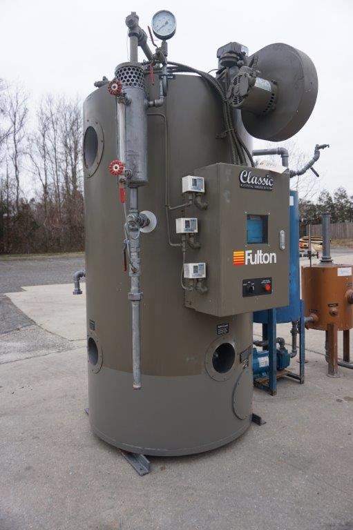 Fulton FB-020-A Natural Gas Boiler, Mfd. 2012