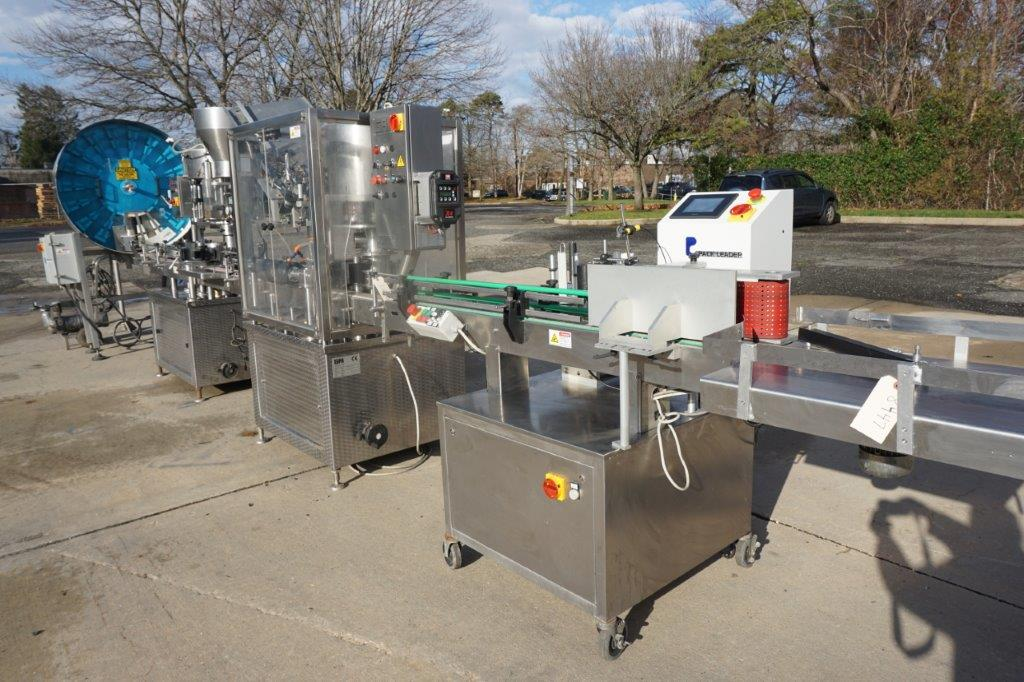 GAI Wine Bottling Line, Up To Approx. 55 Bottles Per Minute