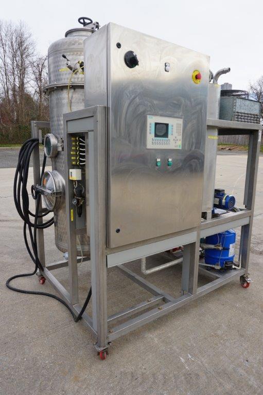Ecotecno Grape Juice Vacuum Concentrator/Evaporator