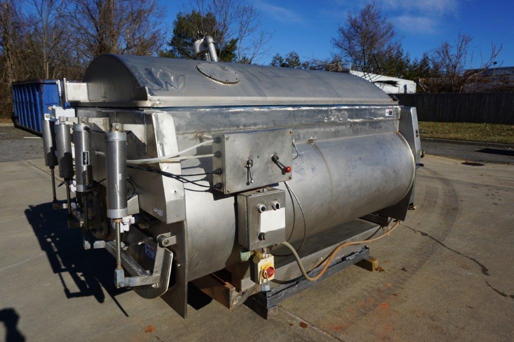 Amfec 3,000 Lb. SS Vacuum Mixer