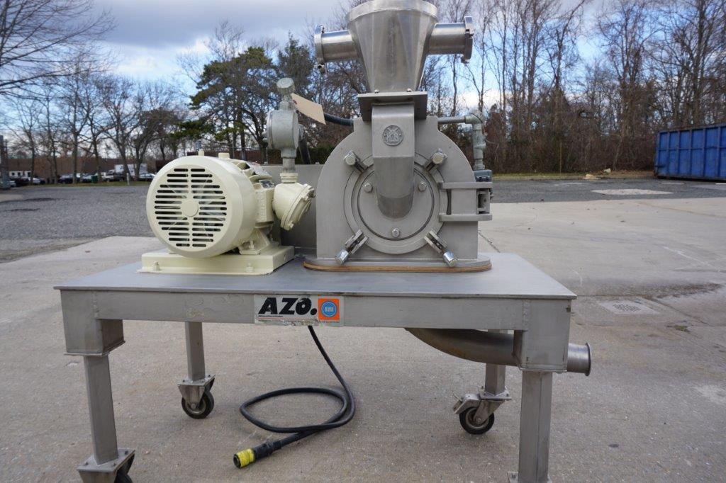 AZO Bauermeister UT-02 Stainless Universal Turbo Grinding Mill, 10 HP, XP