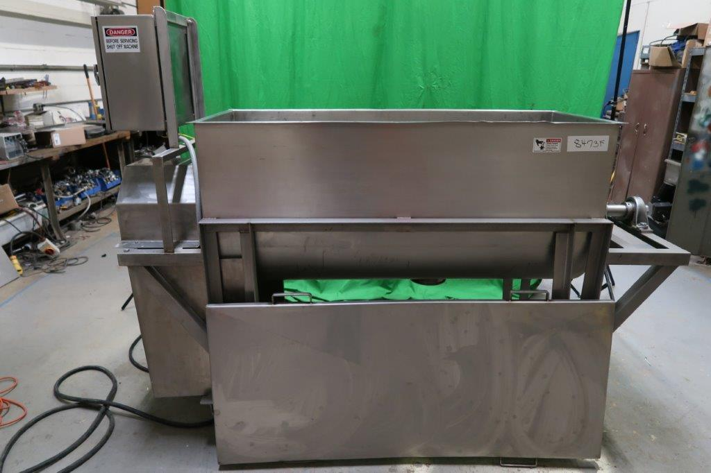 18 Cu. Ft. Stainless Horizontal Paddle Blender, with Scrapers