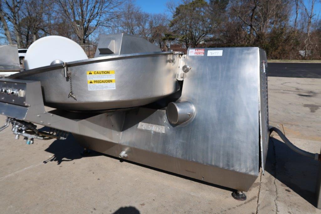 Laska 500 Liter Bowl Chopper, 100 HP Motor, Dairy Machine