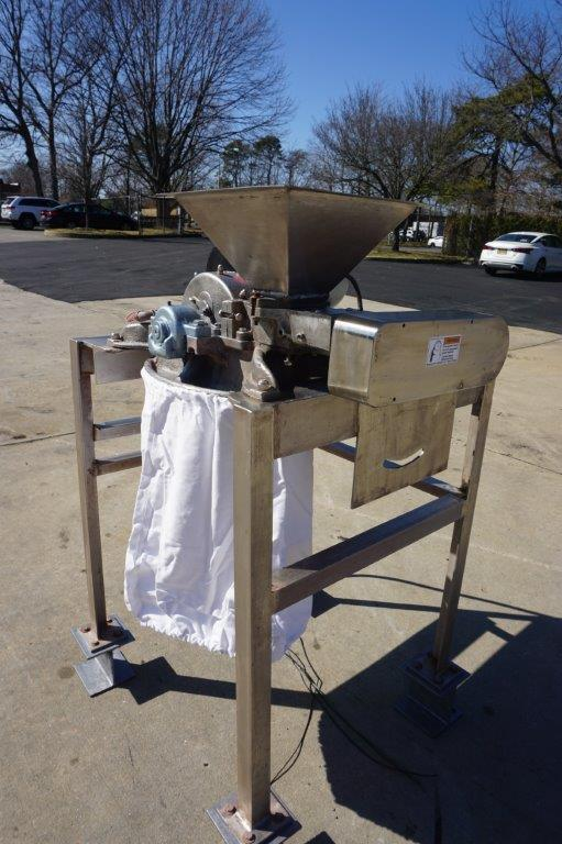 Mikro 1SH Stainless Hammermill/Pulverizer, Stirrup Hammers, XP Motor