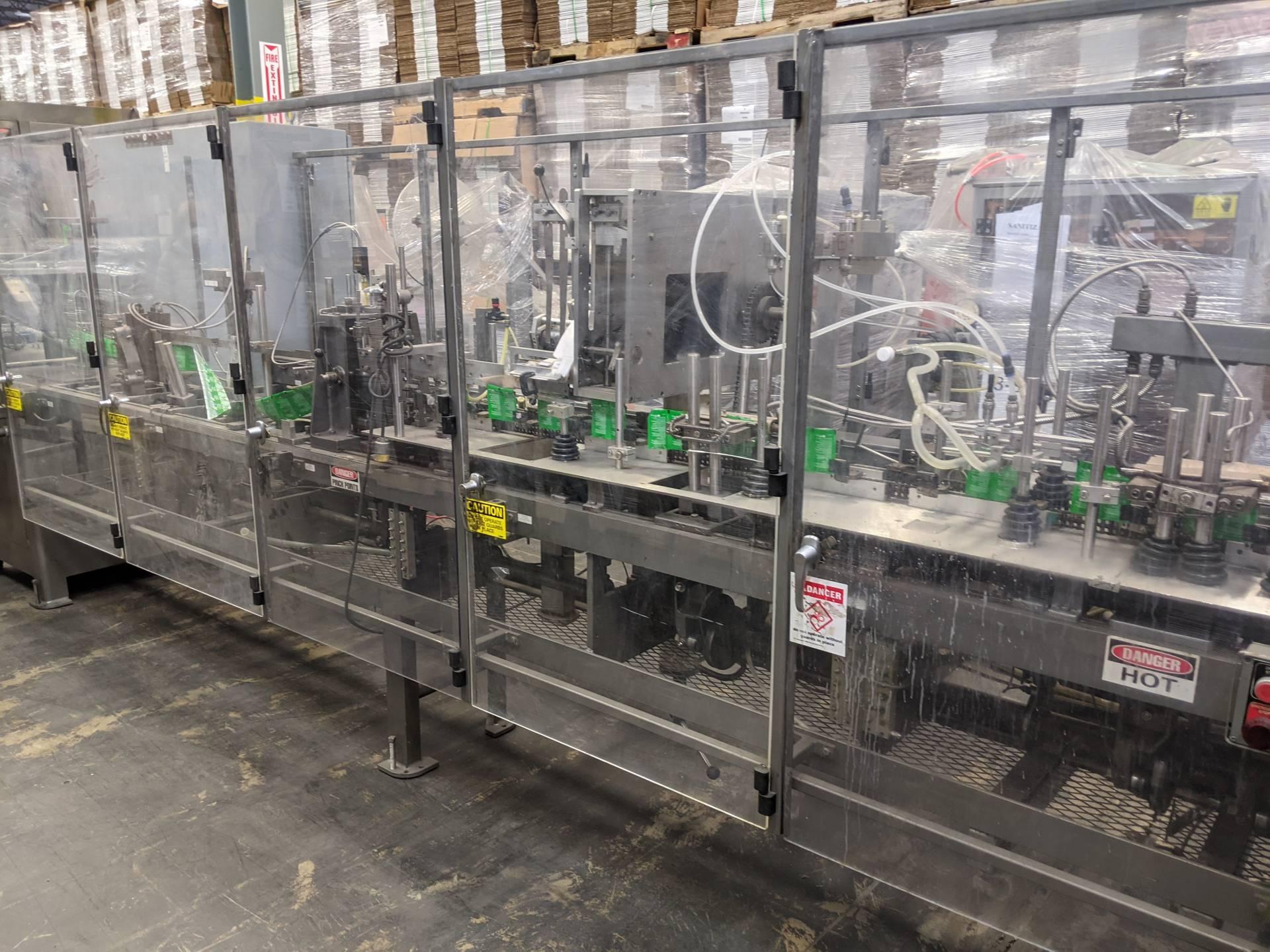 Bartelt IM7-14 Wet Wipe Horizontal Packaging Machine