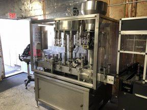 GAI 3000 Monoblock Filling and Corking Wine Bottling Line