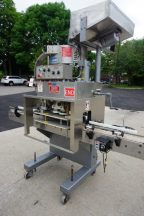 """Kaps-All """"E"""" Four Spindle Screw Capping Machine, With Conveyor"""