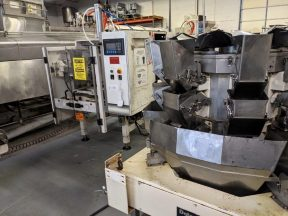 Hayssen 12-16 Vertical Form Fill & Seal Machine, with Yamato 8 Head Rotary Scales