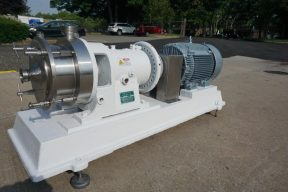 Charlotte SD-40 Stainless Steel Horizontal Colloid Mill, 40HP