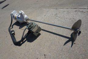 .5HP Portable Agitator, 8.5 In. Diameter Propeller