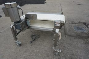 14 In. Wide X 39 In. Long Stainless Sanitary Conveyor, Portable