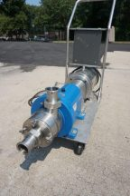 Waukesha SP4 Inline Shear Pump/Emulsifier 10HP Stainless Motor