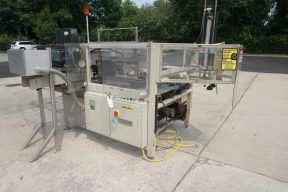 Packo-Matic Case Packaging Machine, Nordson Gluing