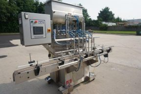 Acasi 6 Piston Fully Automatic Filling Machine, Suitable For Hot Filling